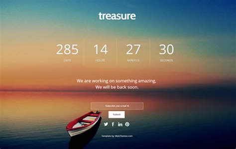 Download Free Bootstrap Coming Soon Web Template Webthemez Coming Soon Template Free