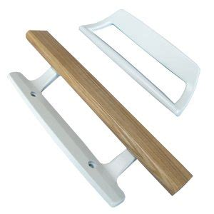 Patio Door Handles White by Sliding Glass Patio Door Handle Inside Wood Outside White