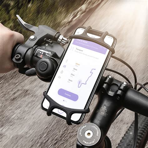 ally floveme universal silikon bisiklet motosiklet telefon