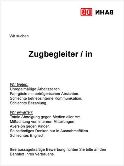 Bewerbung Als Zugbegleiter Deutsche Bahn Bewerbung Lebenslauf