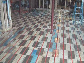 Suspended Slab on an Existing Slab     DIY Radiant Floor