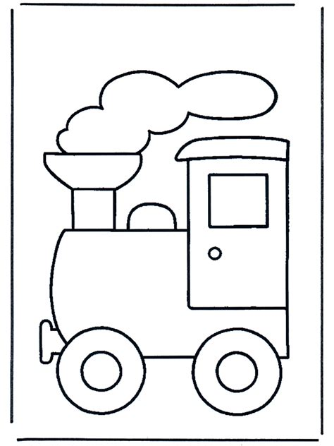 train coloring page toys