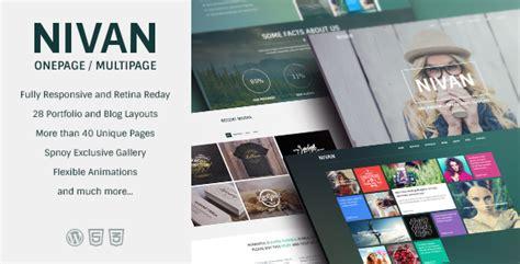 themeforest xone 25 amazing creative wordpress themes