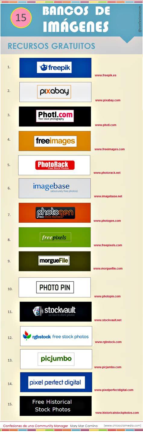 imagenes libres formacion quince bancos de im 225 genes libres en una infograf 237 a