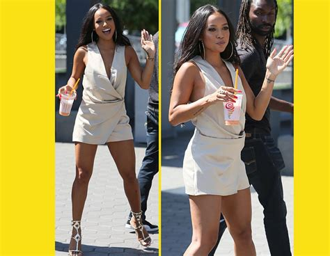 Exes Expecting by Chris Brown S Ex Karreche Pregnancy Rumors Are Growing