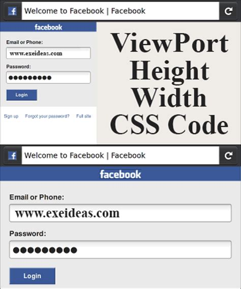 css div width viewport height width css code set you div size as