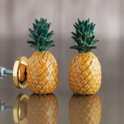 Pineapple Knobs by Pineapple Ceramic Knob Door Knobs Handles Graham Green