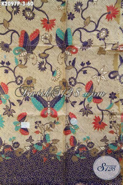 Kain Bahan Batik Printing Katun Murah Bagus Asli Pekalongan batik kain kwalitas halus proses printing motif kupu dan