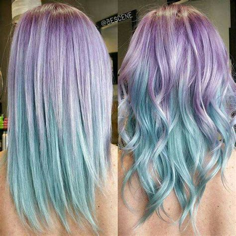 mermaid colored hair 17 best ideas about mermaid hair colors on