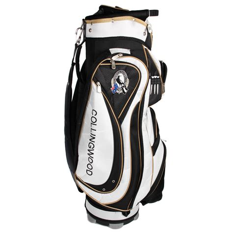Golf Standbag Golf Pgf afl collingwood magpies cart style golf bag