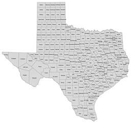 Counties In Tx Texaslawyers Directory And Information Center