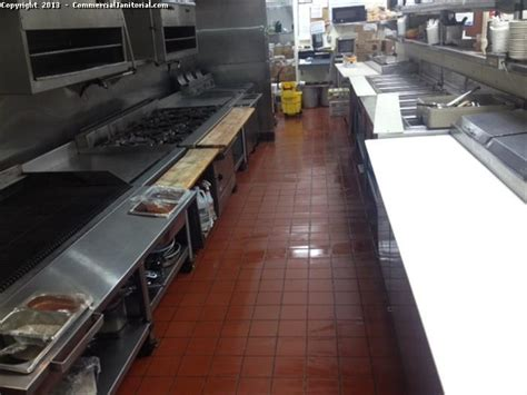 Restaurant Kitchen Flooring Interior Design Ideas