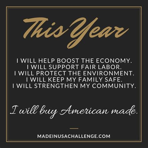 made in america challenge new year s resolution to buy american made made in usa