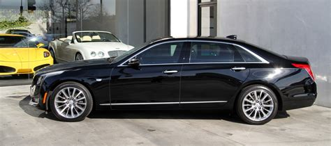 Used Cadillacs by 2016 Cadillac Ct6 3 6l Luxury Stock 6080a For Sale Near