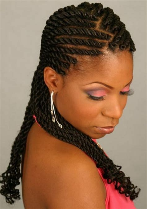 black woman twist hair styles up in pony tails 2016 black braid hairstyles