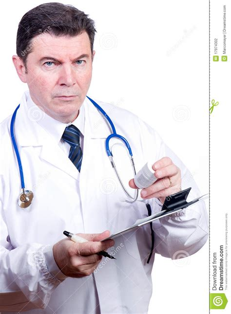The Doctor S Detox by Doctor At Work Stock Photo Image Of Health Blue