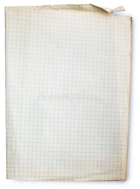 lined paper free stock old square lined paper royalty free stock images image