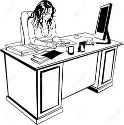 working at desk working at desk clipart clipartsgram