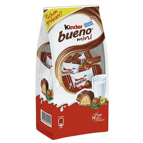 Kinder Bueno Minis Isi 17 kinder bueno mini kaufen im world of shop