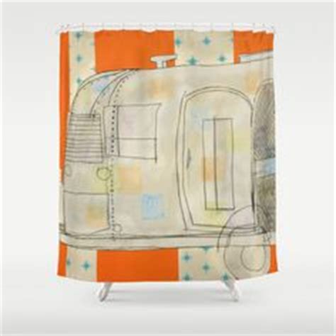 shower curtain for travel trailer 1000 images about airstream on pinterest vintage