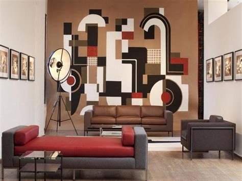 Hiasan Dinding Hiasan Dinding Minimalist Dot Painting ide hiasan dinding ruang tamu indah desain minimalis