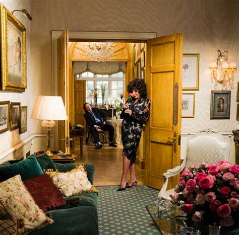 Interior Doors For Homes only in hello joan collins opens the doors to her london