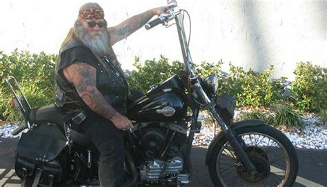 fake tattoo harley rider stirs up the internet harley