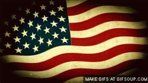 american flag flag gif  gifer  conjunara