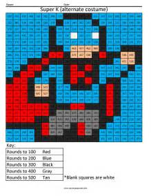 super k rounding hundreds place coloring squared