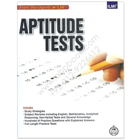 aptitude test ilmi aptitude test with length practice tests by ilmi
