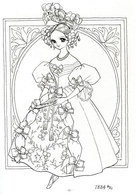 japanese princess coloring pages oltre 1000 idee su disegni di mandala da colorare su