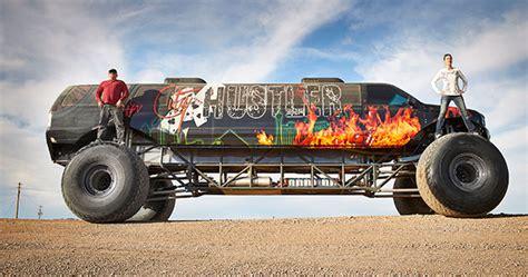 how long does monster truck jam last video 9 8 metre long monster truck storms into guinness