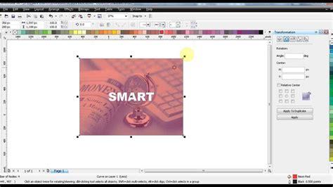 corel draw x4 remove background cara membuat background transparant coreldraw x4 youtube