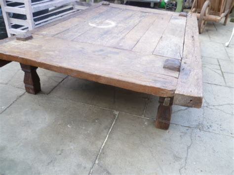 Large Low Coffee Table Large Antique Rustic Low Coffee Table Antiques Atlas