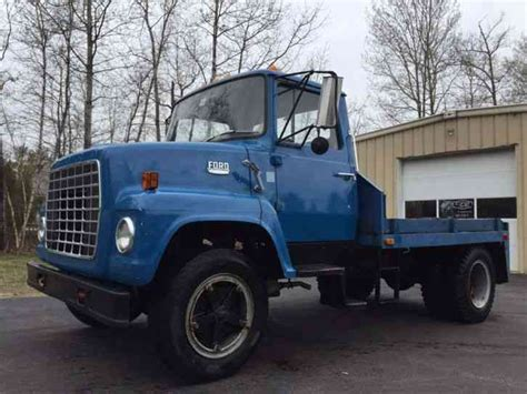 ford ln600 1979 utility service trucks
