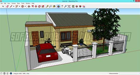 membuat rumah dengan google sketchup rumah sederhana sketchup membuat desain rumah google