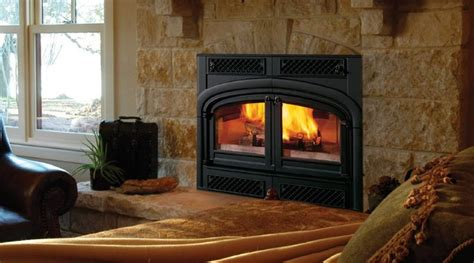 Indoor Wood Fireplace Vermont Castings Ewf36a Sequoia Series 43 X 52 Wood