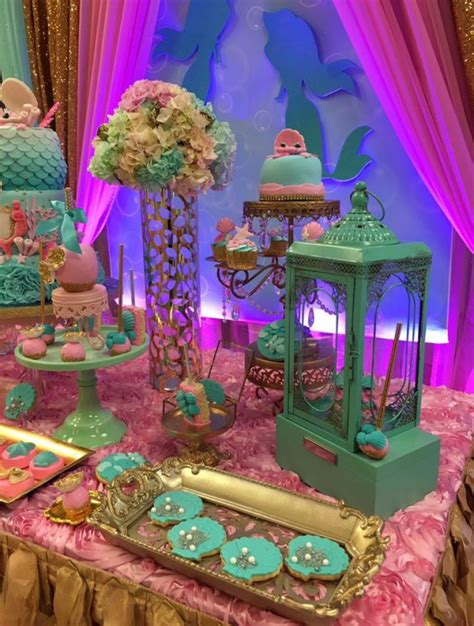 The Mermaid Baby Shower Theme by Mythical Mermaid Baby Shower Baby Shower Ideas Themes