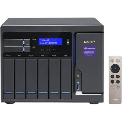 Qnap Tvs 882 I3 8gb Ram 8 Bay Nas Server External Storage Tvs882 qnap tvs 882 i3 8g 8 bay diskless nas i3 6100 dual