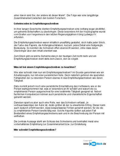 referenzschreiben freiberufler muster kostenlos empfehlungsschreiben freiberufler muster zum