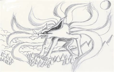 Nine Tailed Fox Coloring Pages free nine coloring pages