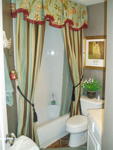 bathroom drapery ideas 52 best images about custom shower curtain on