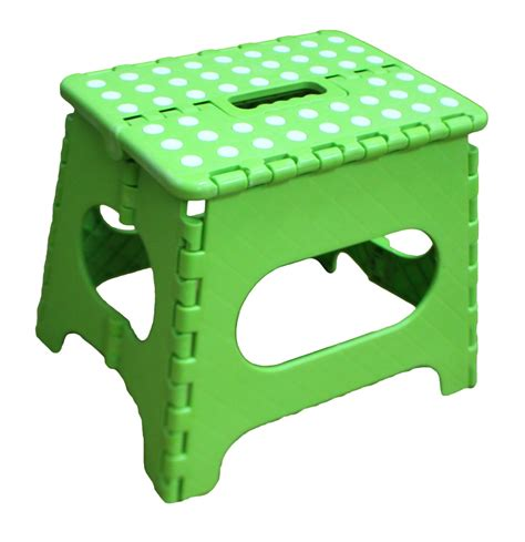 Jeronic Folding Step Stool by Acko 11 Inches Non Slip Folding Step Stool For