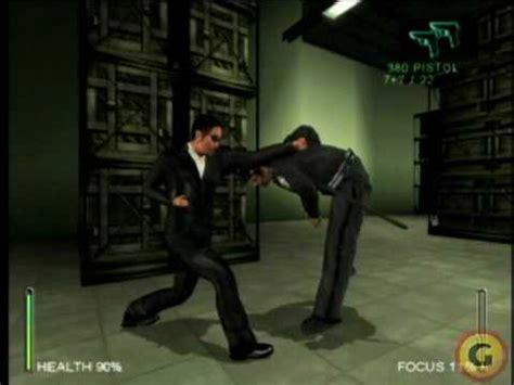 Ps2 Matrix enter the matrix ps2 gameplay