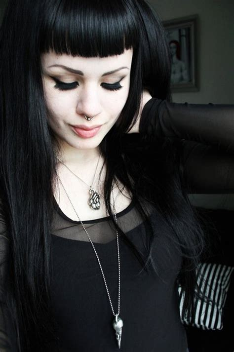 old goth bangs hairstyle 145 best images about micro fringe bettie bangs on