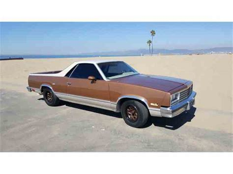 el camino for sale 1983 chevrolet el camino for sale on classiccars