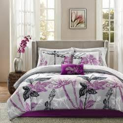 purple comforter sets purple bedroom ideas - Bedroom Comforter Set