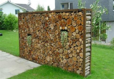 Holz Garten by Sichtschutz Garten Holz Garten Und Bauen