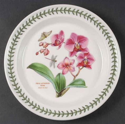 Portmeirion Botanic Garden Dinner Plate Portmeirion Botanic Garden Moth Orchid Dinner Plate 9426609