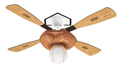 sports ceiling fans baseball fan ceiling fan 23252 in leather look